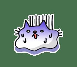 Amoeba Cat sticker #273726