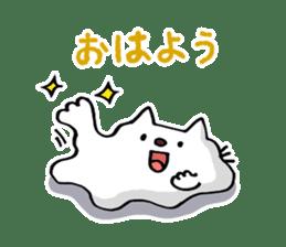 Amoeba Cat sticker #273737