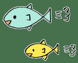 A pleasant aquarium sticker #273998
