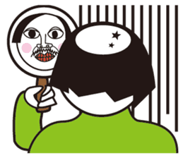 Beard Uncle Pleasant daily life sticker #274376