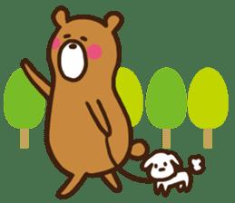 soft bear sticker #274924