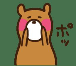 soft bear sticker #274933