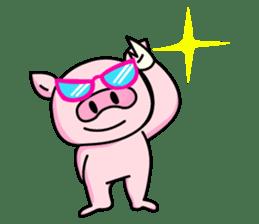 lovely pig sticker #274950