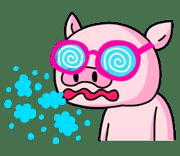 lovely pig sticker #274983