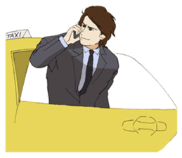 For the Business man sticker #275278