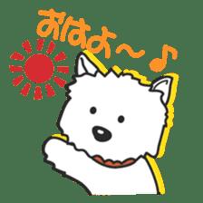 Westie Rutile sticker #275906