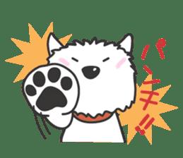 Westie Rutile sticker #275910