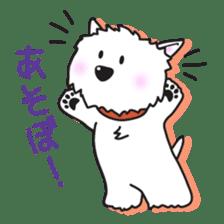 Westie Rutile sticker #275920