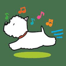 Westie Rutile sticker #275921