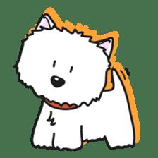 Westie Rutile sticker #275925
