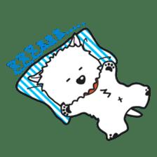 Westie Rutile sticker #275932