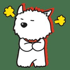 Westie Rutile sticker #275933