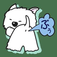 Westie Rutile sticker #275937