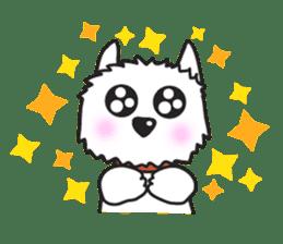 Westie Rutile sticker #275938