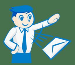 Office worker Mr. Susumu sticker #276315
