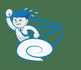 Office worker Mr. Susumu sticker #276343