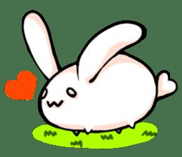 Heart Tail Rabbit sticker #277225