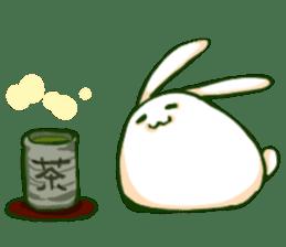 Heart Tail Rabbit sticker #277227