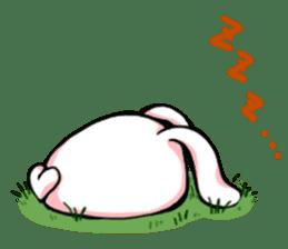 Heart Tail Rabbit sticker #277233