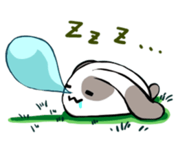 Heart Tail Rabbit sticker #277234