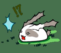 Heart Tail Rabbit sticker #277235