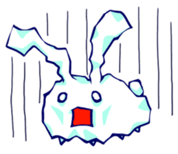 Heart Tail Rabbit sticker #277238