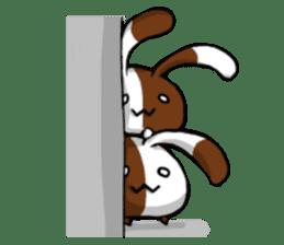 Heart Tail Rabbit sticker #277240