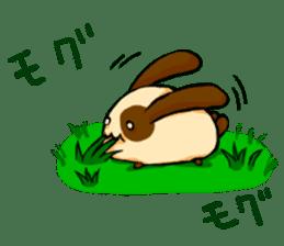 Heart Tail Rabbit sticker #277241