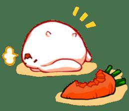 Heart Tail Rabbit sticker #277242