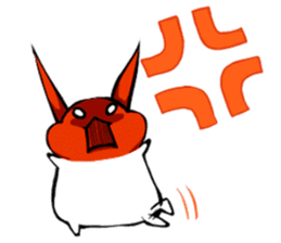 Heart Tail Rabbit sticker #277243