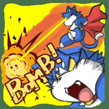 SUPER ANIMAL HEROS sticker #277350