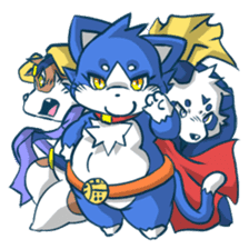 SUPER ANIMAL HEROS sticker #277368