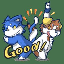 SUPER ANIMAL HEROS sticker #277376