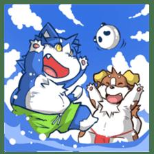 SUPER ANIMAL HEROS sticker #277377