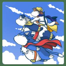 SUPER ANIMAL HEROS sticker #277378