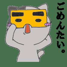 Cat Hakata sticker #279504