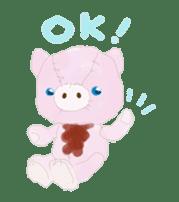 teddy's-1 sticker #279988