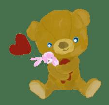 teddy's-1 sticker #280001