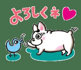 Noriko`s Slow Life sticker #280348