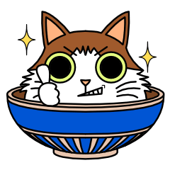 Bowl in cat