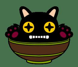 Bowl in cat sticker #281109