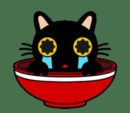Bowl in cat sticker #281112