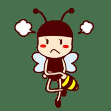 Bee girl Hana sticker #281788