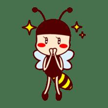 Bee girl Hana sticker #281790