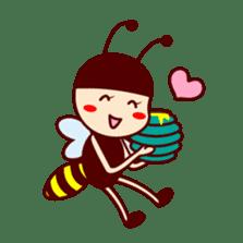 Bee girl Hana sticker #281791