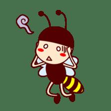 Bee girl Hana sticker #281792
