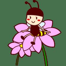Bee girl Hana sticker #281795