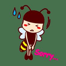 Bee girl Hana sticker #281796