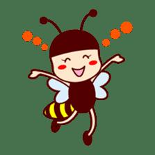 Bee girl Hana sticker #281798