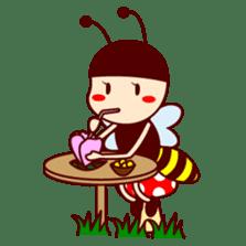 Bee girl Hana sticker #281799